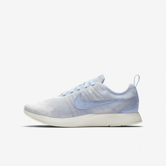 Nike Dualtone Racer SE Lifestyle Shoes For Girls Royal Tint/Sail 378WGFMH