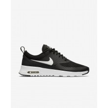 Nike Air Max Thea Lifestyle Shoes For Women Black/Summit White 627MLUXE