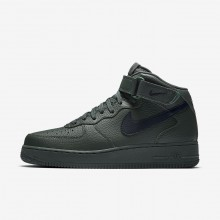 Nike Air Force 1 Mid 07 Lifestyle Shoes For Men Grove Green/Black 512YPTBU