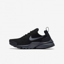 Nike Presto Fly Lifestyle Shoes For Boys Black/Anthracite 365XQIEJ