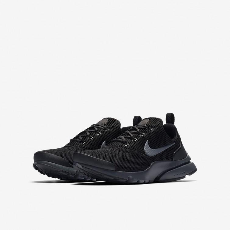 b24aeaf6e5a25 ... Nike Presto Fly Lifestyle Shoes For Boys Black Anthracite 365XQIEJ