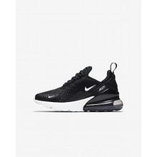 Chaussure Casual Nike Air Max 270 Garcon Noir/Blanche 703EAROZ