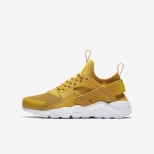 Zapatillas Casual Nike Air Huarache Ultra Niño Amarillo/Plateadas 933QLWDH