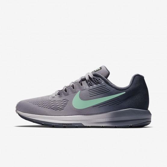 Nike Air Zoom Structure 21 Hardloopschoenen Dames Paars/Blauw/Licht/Groen 916ZDPFK