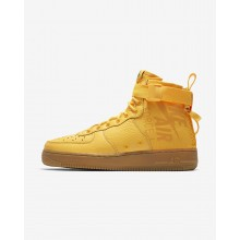 Nike SF Air Force 1 Mid OBJ Casual Schoenen Heren Oranje/Zwart 940RTVNZ