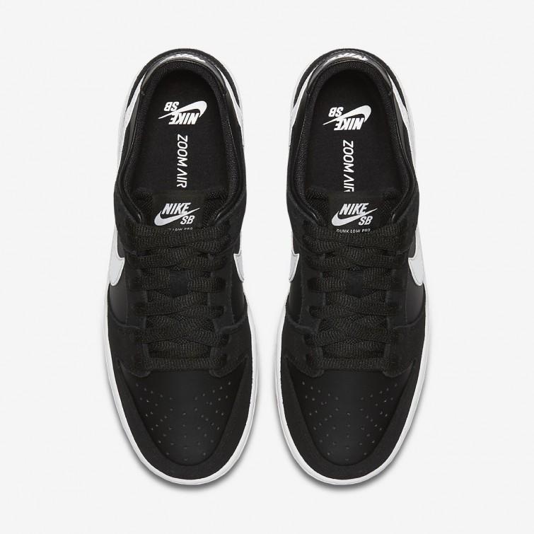 6f78705c9ef8 ... Nike SB Dunk Low Pro Skateboarding Shoes For Men Black Gum Light Brown  White ...