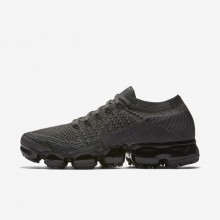 Nike Air VaporMax Flyknit Running Shoes For Women Midnight Fog/Black/College Navy/Multi-Color 651IPSEF