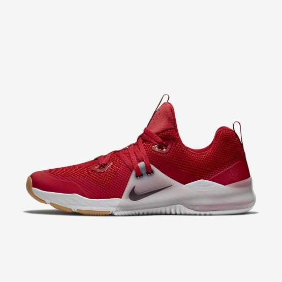 Nike Zoom Train Command Training Shoes For Men Gym Red/Vast Grey/Gum Medium Brown/Deep Burgundy 219FXMWH