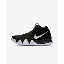 Nike Kyrie 4 Basketball Shoes For Men Black/Anthracite/Light Racer Blue/White 266CODHP