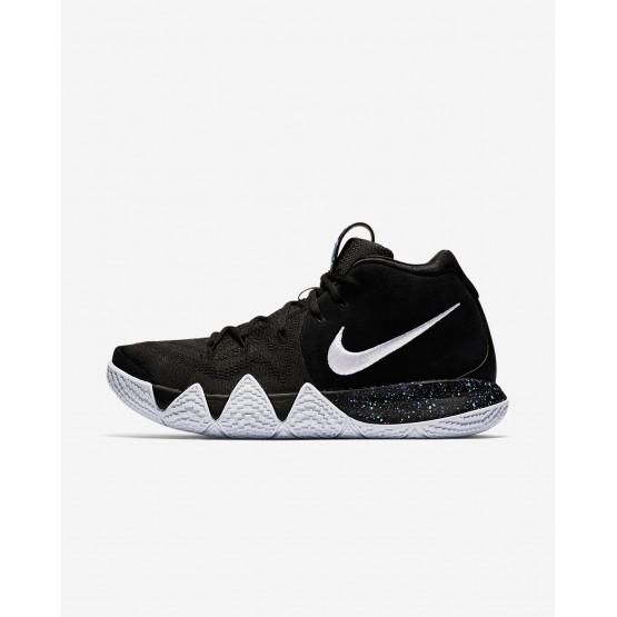 Nike Kyrie 4 Basketball Shoes For Men Black/Anthracite/Light Racer Blue/White 266CODHP