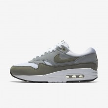 Nike Air Max 1 Lifestyle Shoes For Women White/Light Pumice/Black/Dark Stucco 697WYKOM