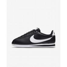 Nike Classic Cortez Lifestyle Shoes For Women Black/White 689HPMIZ