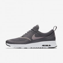 Nike Air Max Thea Lifestyle Shoes For Women Gunsmoke/Black/Particle Rose 750BCMAU