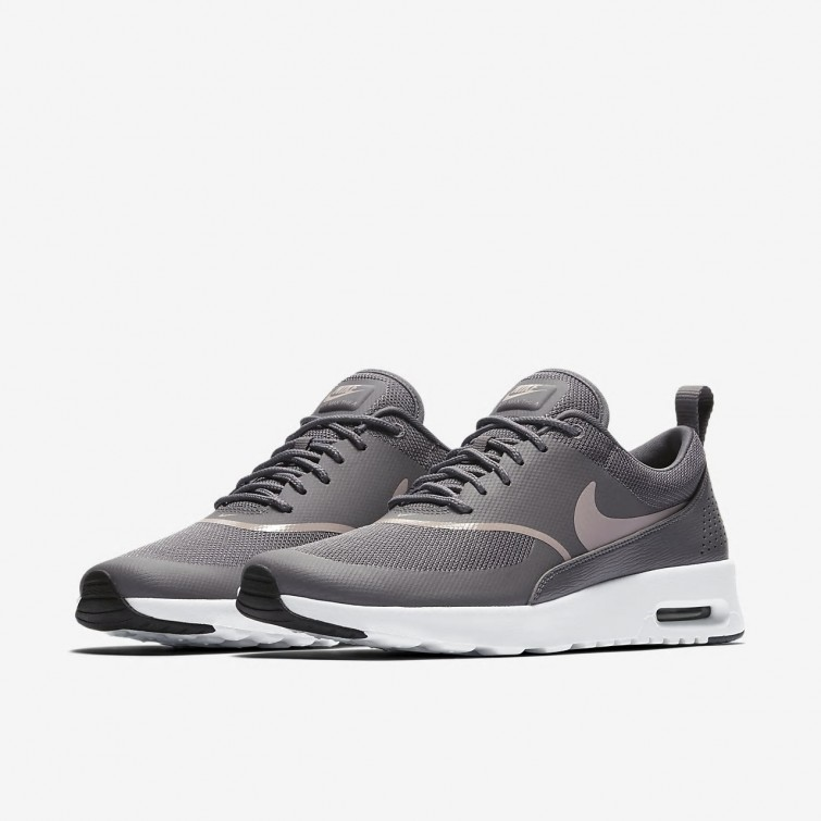 buy online 35302 2f7f6 ... Nike Air Max Thea Lifestyle Shoes For Women Gunsmoke Black Particle Rose  750BCMAU