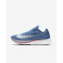Nike Zoom Fly Hardloopschoenen Heren Blauw/Blauw/Wit 722VZMLG