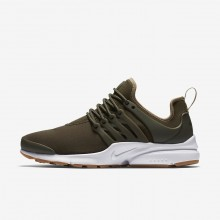 Nike Air Presto Lifestyle Shoes For Women Cargo Khaki/Neutral Olive/Gum Light Brown 141WISMT