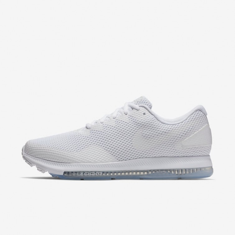 Nike Zoom All Out Low 2 Running Shoes For Men White/Off White 375ITVXL
