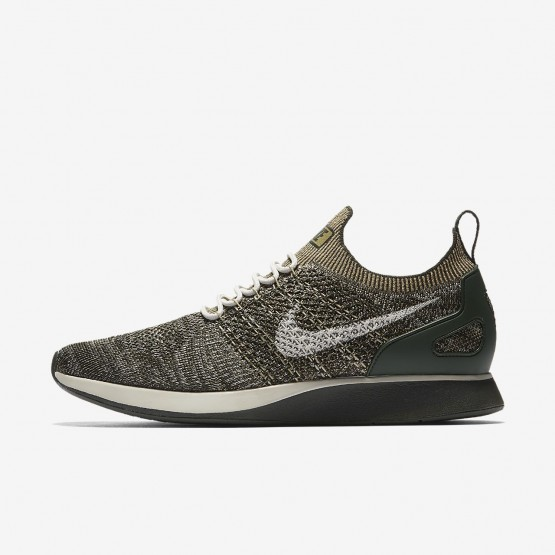 Nike Air Zoom Mariah Flyknit Racer Lifestyle Shoes For Men Sequoia/Light Bone/Neutral Olive 375SJEMQ