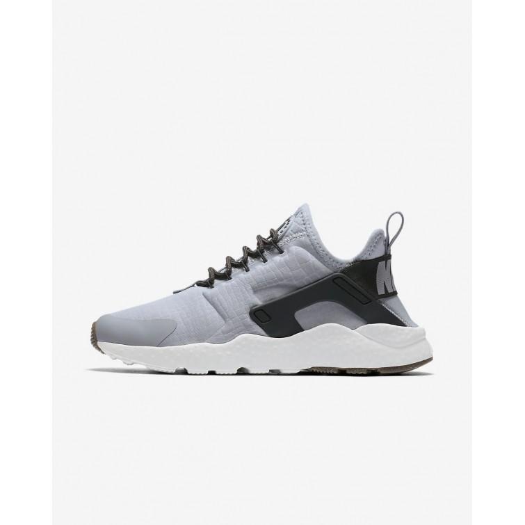 58c73c4e70868 Nike Air Huarache Ultra Lifestyle Shoes For Women Wolf Grey Summit White Gum  Medium