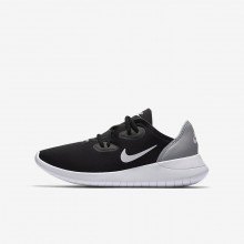 Nike Hakata Lifestyle Shoes For Boys Black/Wolf Grey/White 310YAIQS