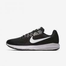 Nike Air Zoom Structure 21 Running Shoes For Women Black/Wolf Grey/Cool Grey/White 104TBWDI