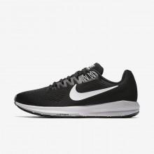 Sapatilhas Running Nike Air Zoom Structure 21 Mulher Pretas/Cinzentas/Cinzentas/Branco 973DWZSJ