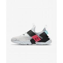 Sapatilhas Casual Nike Air Huarache Drift Premium Homem Platina/Rosa/Pretas 505WMYDV