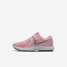 Nike Revolution 4 Running Shoes For Girls Arctic Punch/Sunset Pulse/White/Metallic Silver 284BNLDX