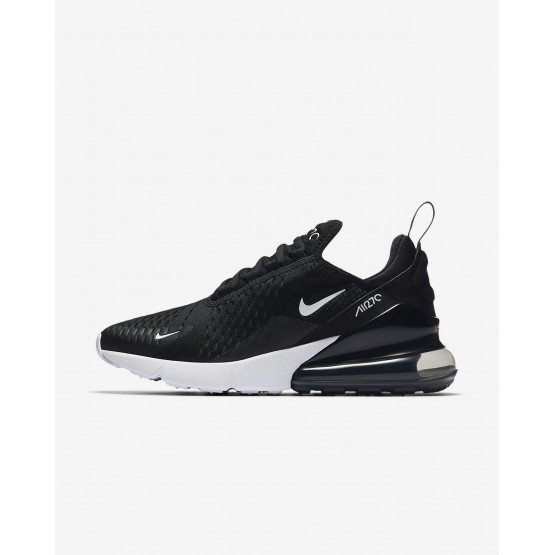 Nike Air Max 270 Lifestyle Shoes For Women Black/White/Anthracite 100DNBFR