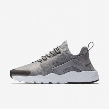 Nike Air Huarache Ultra SE Lifestyle Shoes For Women Dust/Metallic Pewter/Black 583GDONB