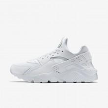 Sapatilhas Casual Nike Air Huarache Homem Branco/Platina 987GLNTJ