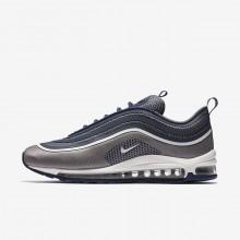 Chaussure Casual Nike Air Max 97 Ultra 17 Homme Bleu Marine/Clair Blanche 182BNMOS