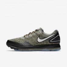 Nike Zoom All Out Running Shoes Mens Cargo Khaki/Black/Light Bone 416RUZTE