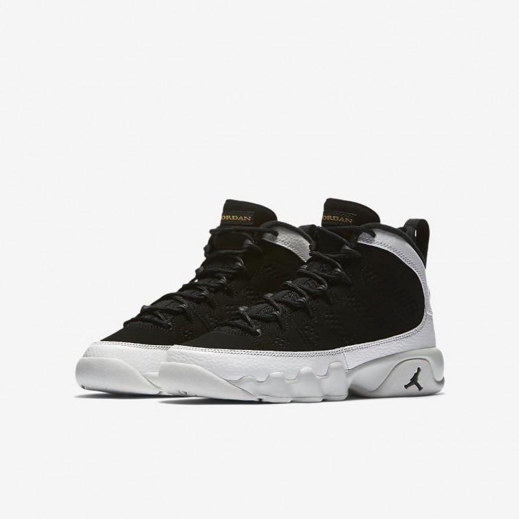 big sale bcbc6 c1fe1 Nike Air Jordan 9 UK Cheap, Lifestyle Shoes Boys Black ...