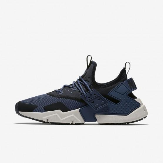 Nike Air Huarache Drift Lifestyle Shoes For Men Thunder Blue/Black/White/Desert Sand 865DAQMW