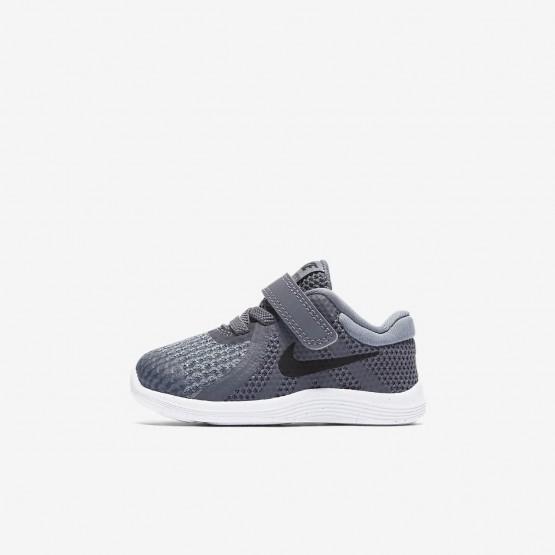 Sapatilhas Running Nike Revolution 4 Menina Cinzentas Escuro/Cinzentas/Branco/Pretas 579YSKPW