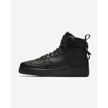 Nike SF Air Force 1 Mid Casual Schoenen Heren Zwart 592RBSIJ
