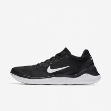 Nike Free RN 2018 Running Shoes For Men Black/White 304TYPXV
