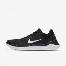 Zapatillas Running Nike Free RN 2018 Hombre Negras/Blancas 298UJELM