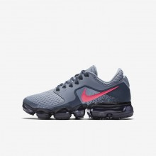Nike Air VaporMax Running Shoes For Girls Dark Sky Blue/Thunder Blue/Midnight Navy/Racer Pink 552MKOLF