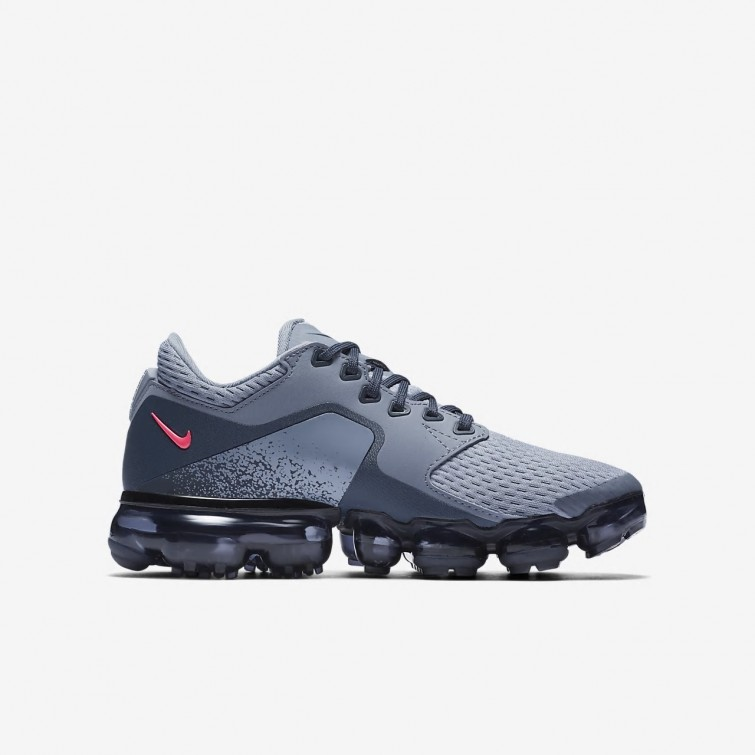 4cb94f1e384b5 ... Nike Air VaporMax Running Shoes For Girls Dark Sky Blue Thunder Blue Midnight  Navy ...