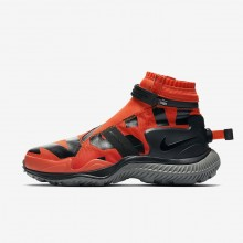 Nike Gaiter Lifestyle Shoes For Men Team Orange/Tumbled Grey/Black 912SHTRK