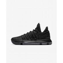 Nike Zoom KDX Basketball Shoes For Women Black/Dark Grey 646SDUTC