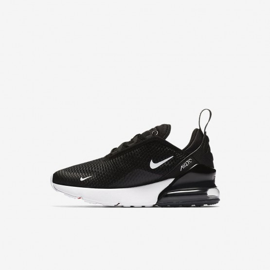 Nike Air Max 270 Lifestyle Shoes For Boys Black/Anthracite/White 792ZIKUO