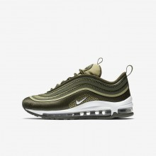 Nike Air Max 97 Ultra 17 Lifestyle Shoes For Boys Cargo Khaki/River Rock/Neutral Olive/White 549SUEPG