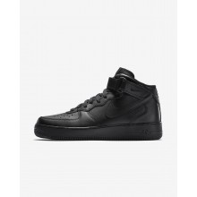 Nike Air Force 1 Mid 07 Casual Schoenen Heren Zwart 127UWYMV