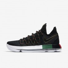 Nike Zoom KDX BHM Basketball Shoes For Women Black/Multi-Color 336LRBWT