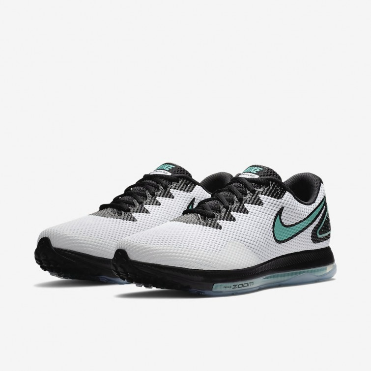 6b69e8a7ea4c ... Nike Zoom All Out Low 2 Running Shoes For Men White Black Clear Jade