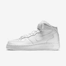 Nike Air Force 1 Mid 07 Lifestyle Shoes For Women White 323MFZYE