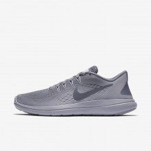 Nike Flex 2017 RN Running Shoes For Women Light Carbon/Provence Purple/Igloo 713SREOX